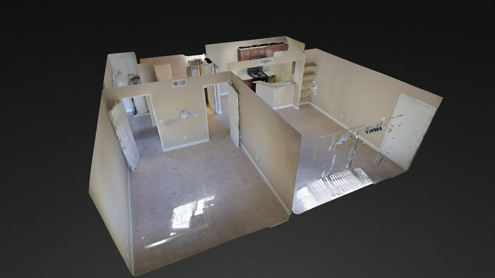 3D Virtual Tours that feel like Google Street maps, but indoors