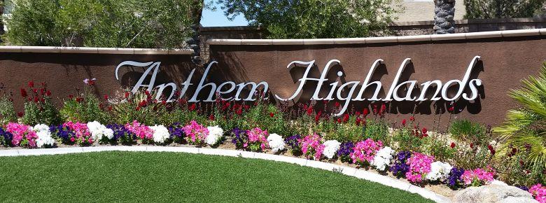 Anthem Highlands Henderson Welcome